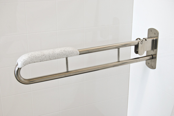 Stainless Steel Folding Drop Down Safety Rails Superquip Stainless Steel Safety