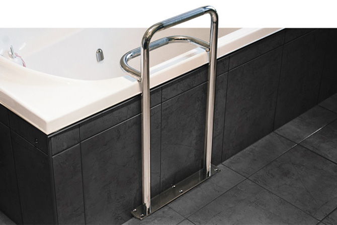 Stainless Steel Bath Safety Grab Rail Superquip