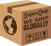 Superquip ship products anywhere in the world